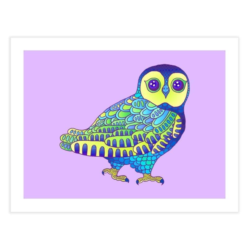 Owl Home Fine Art Print by ShadoBado Artist Shop