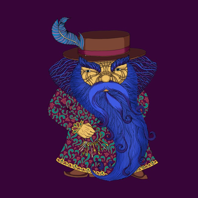 Blue beard by ShadoBado Artist Shop