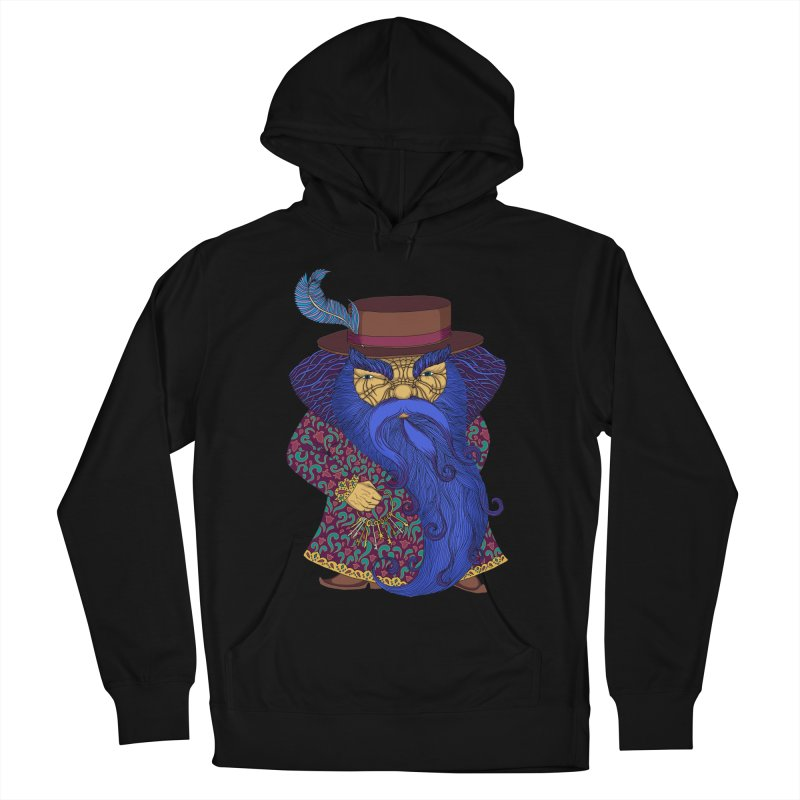 Blue beard Men's French Terry Pullover Hoody by ShadoBado Artist Shop