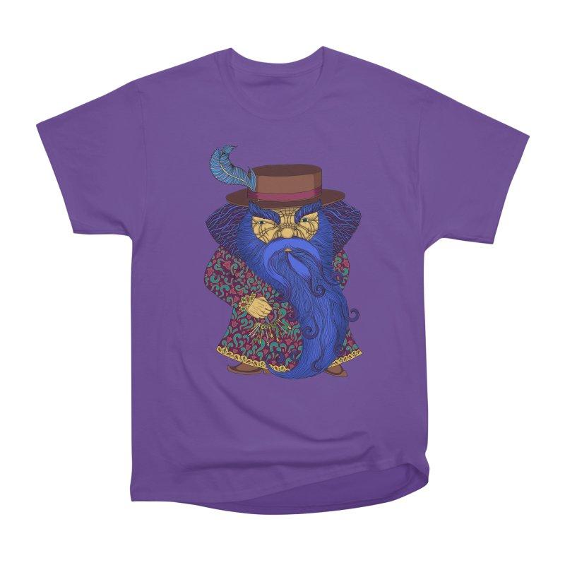 Blue beard Men's Heavyweight T-Shirt by ShadoBado Artist Shop