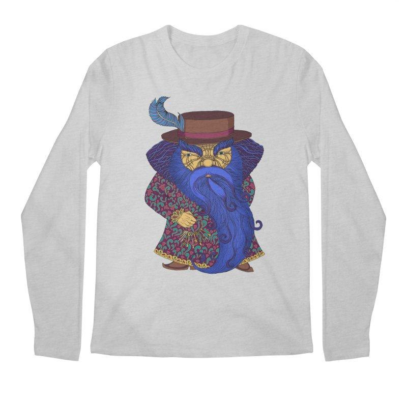 Blue beard Men's Regular Longsleeve T-Shirt by ShadoBado Artist Shop