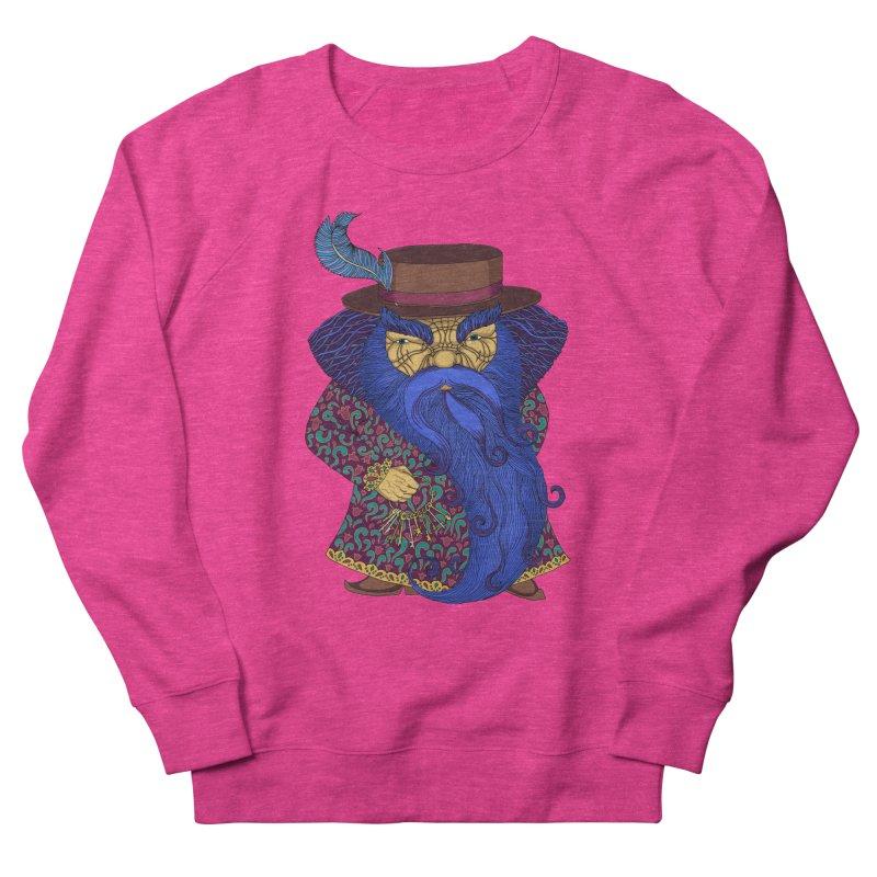 Blue beard Women's French Terry Sweatshirt by ShadoBado Artist Shop