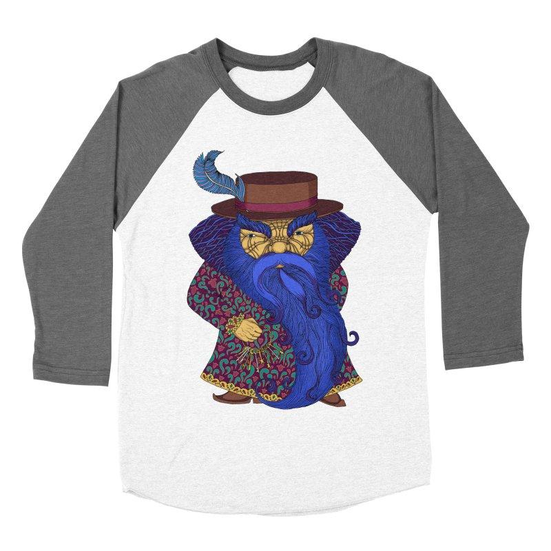 Blue beard Women's Baseball Triblend Longsleeve T-Shirt by ShadoBado Artist Shop
