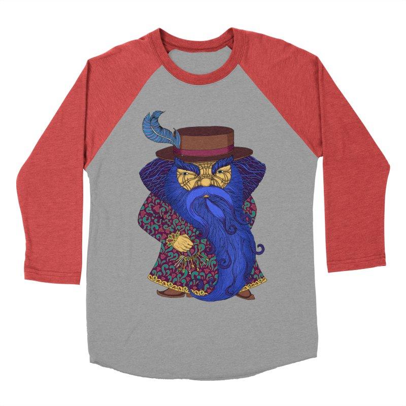 Blue beard Men's Baseball Triblend Longsleeve T-Shirt by ShadoBado Artist Shop