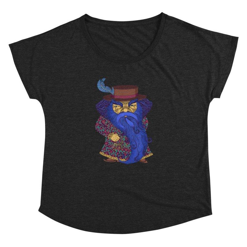 Blue beard Women's Dolman Scoop Neck by ShadoBado Artist Shop