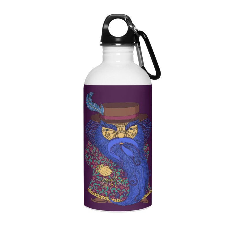 Blue beard Accessories Water Bottle by ShadoBado Artist Shop