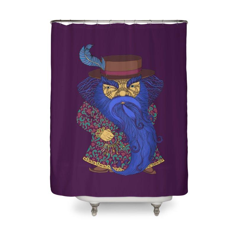 Blue beard Home Shower Curtain by ShadoBado Artist Shop