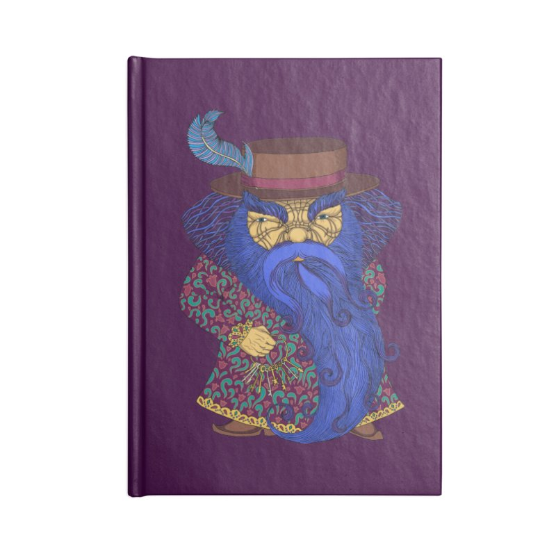 Blue beard Accessories Blank Journal Notebook by ShadoBado Artist Shop