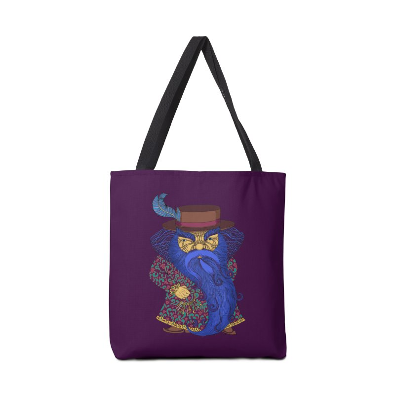 Blue beard Accessories Bag by ShadoBado Artist Shop