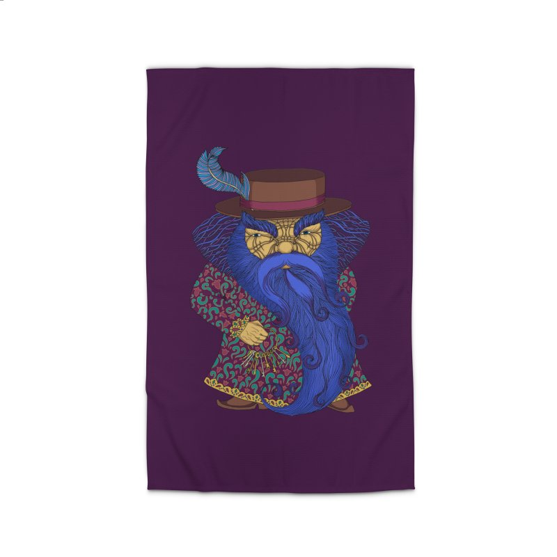 Blue beard Home Rug by ShadoBado Artist Shop