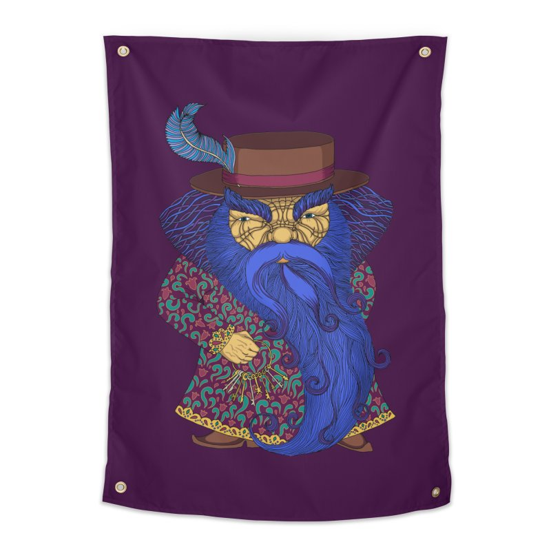 Blue beard Home Tapestry by ShadoBado Artist Shop