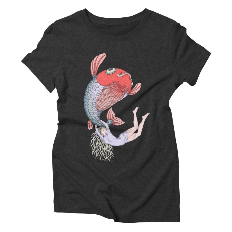 Let it go Women's Triblend T-Shirt by ShadoBado Artist Shop