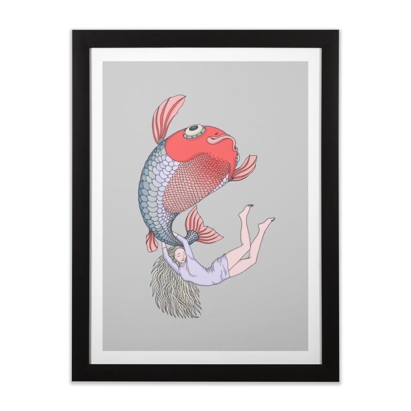Let it go Home Framed Fine Art Print by ShadoBado Artist Shop