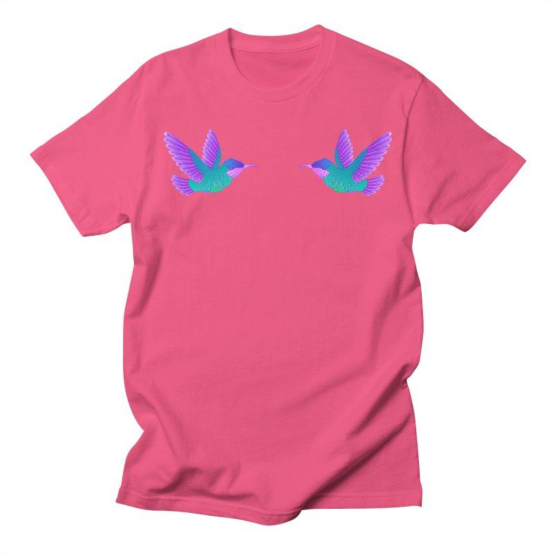 Hummingbirds Women's Regular Unisex T-Shirt by ShadoBado Artist Shop