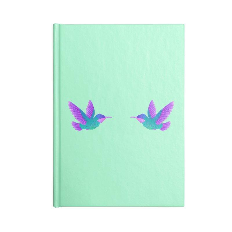 Hummingbirds Accessories Notebook by ShadoBado Artist Shop