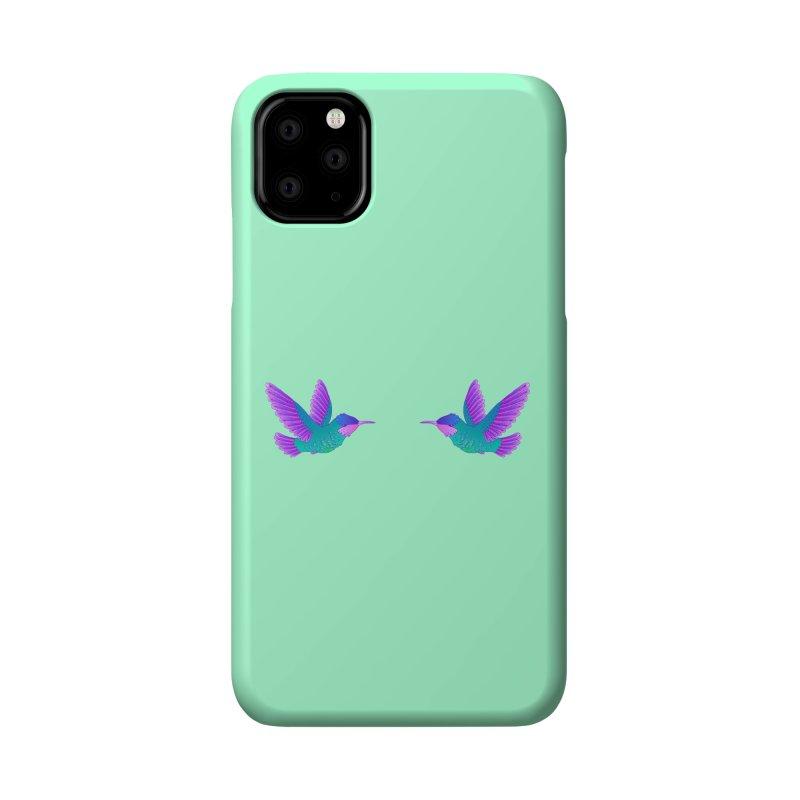 Hummingbirds Accessories Phone Case by ShadoBado Artist Shop