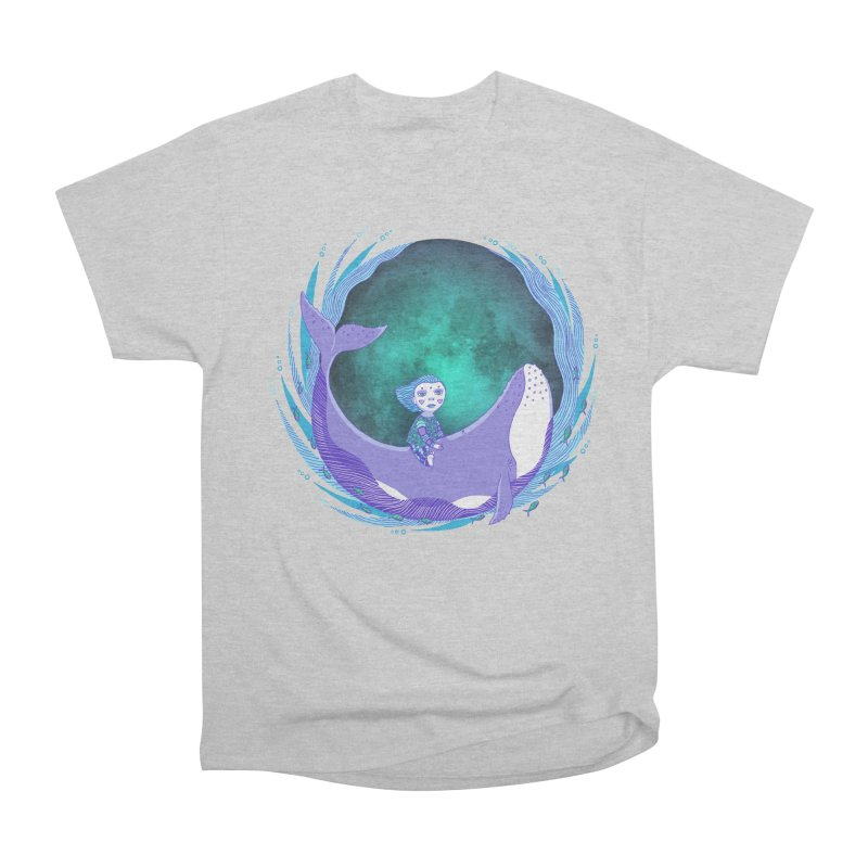 Riding the whale Men's T-Shirt by ShadoBado Artist Shop
