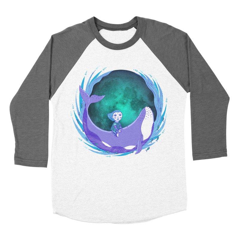 Riding the whale Women's Longsleeve T-Shirt by ShadoBado Artist Shop