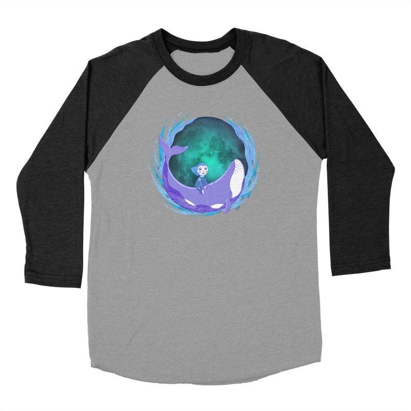 Riding the whale Men's Longsleeve T-Shirt by ShadoBado Artist Shop