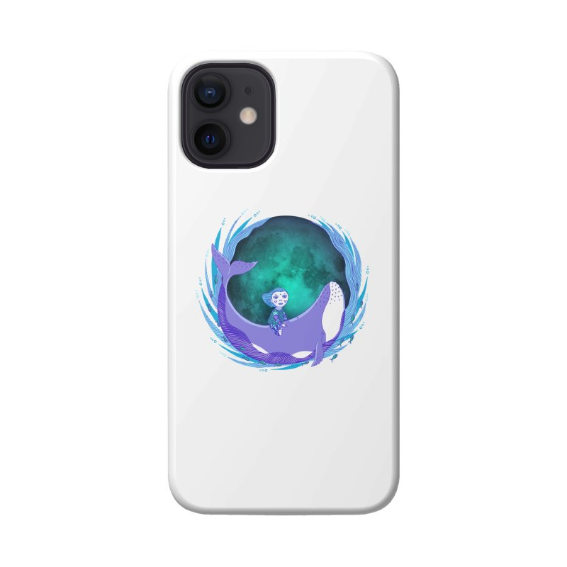 Riding the whale Accessories Phone Case by ShadoBado Artist Shop