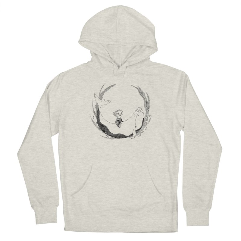 Riding the whale2 Women's Pullover Hoody by ShadoBado Artist Shop