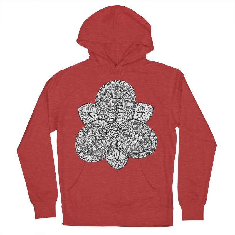 Trikvetr Women's French Terry Pullover Hoody by ShadoBado Artist Shop