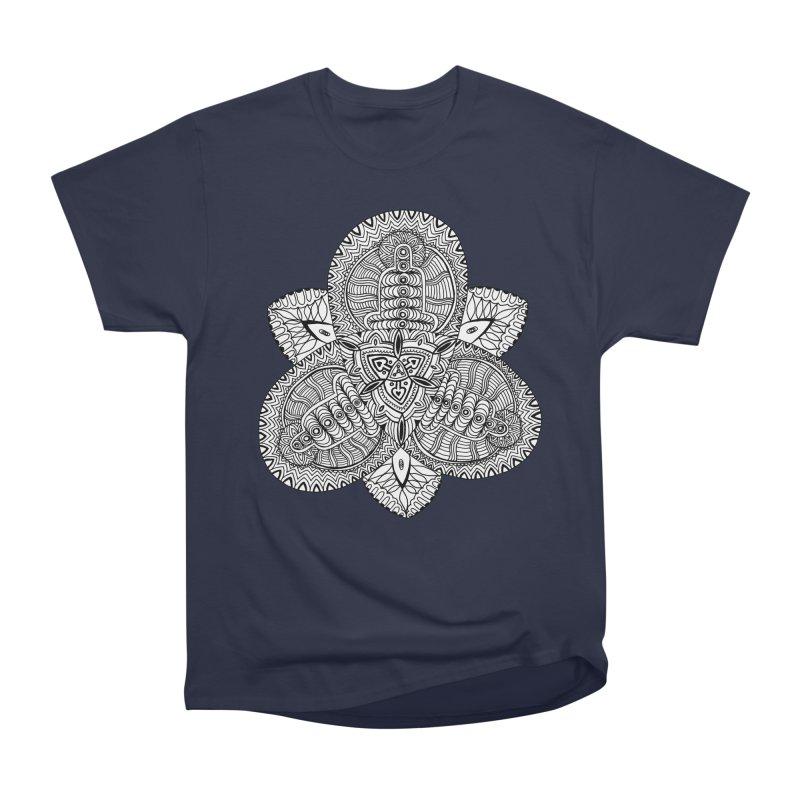 Trikvetr Men's Heavyweight T-Shirt by ShadoBado Artist Shop