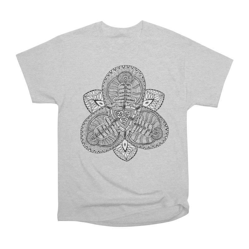 Trikvetr Women's Heavyweight Unisex T-Shirt by ShadoBado Artist Shop