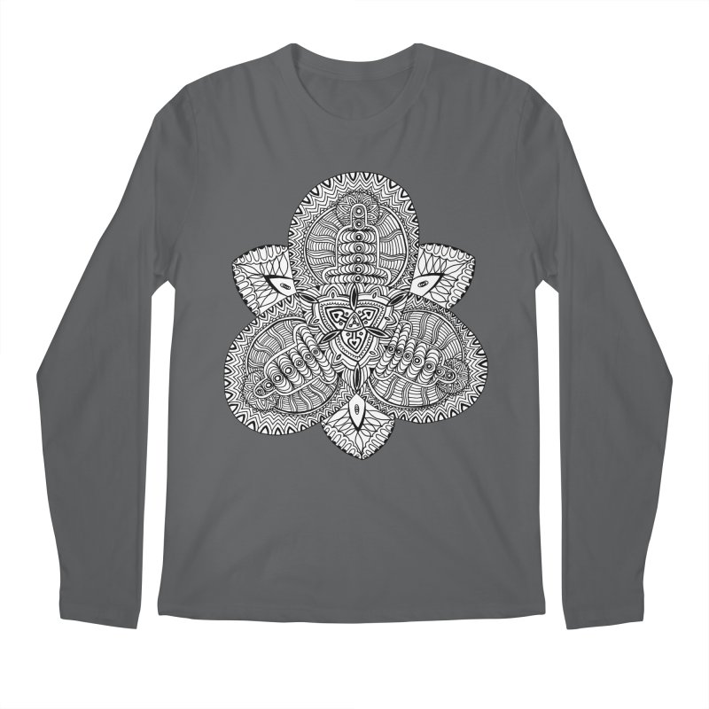 Trikvetr Men's Regular Longsleeve T-Shirt by ShadoBado Artist Shop