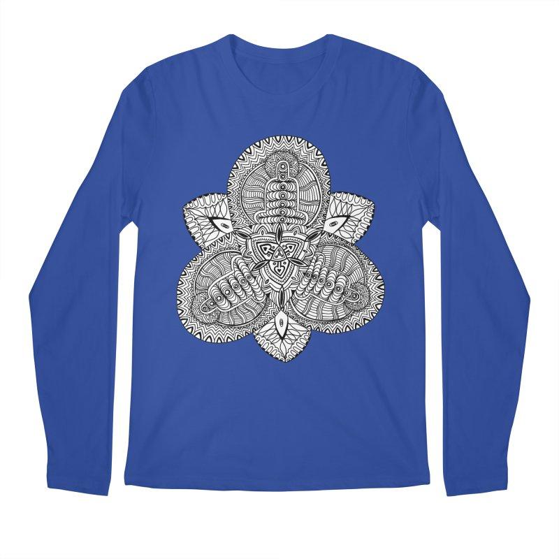 Trikvetr Men's Regular Longsleeve T-Shirt by ShadoBado Artist Shop