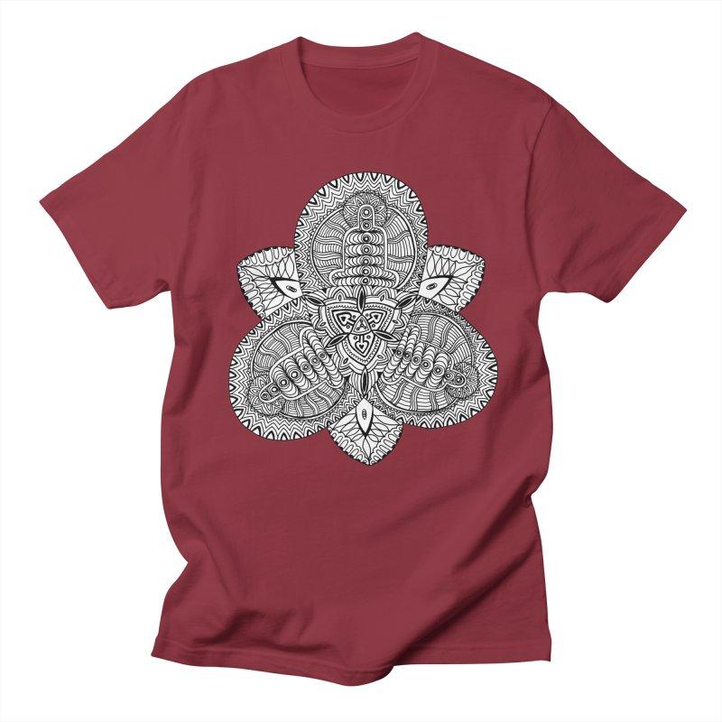 Trikvetr Women's Regular Unisex T-Shirt by ShadoBado Artist Shop