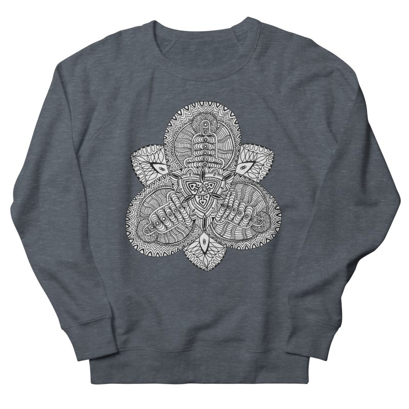 Trikvetr Men's French Terry Sweatshirt by ShadoBado Artist Shop