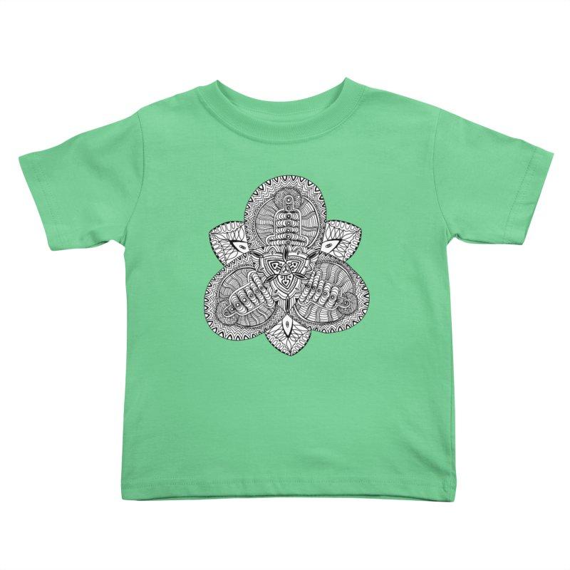 Trikvetr Kids Toddler T-Shirt by ShadoBado Artist Shop
