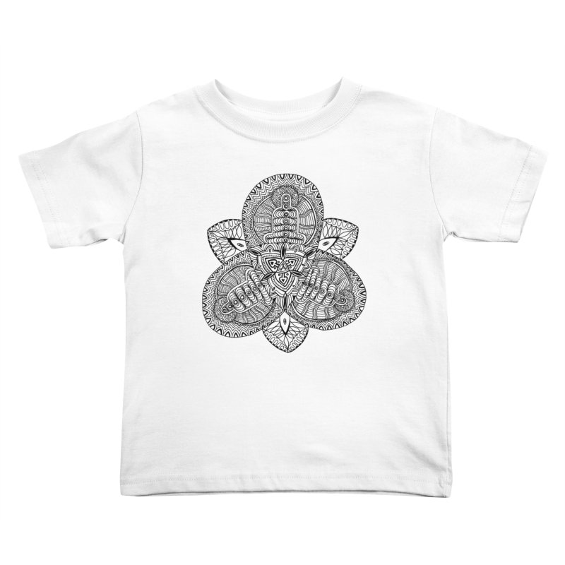 Trikvetr Kids Toddler T-Shirt by ShadoBado Artist Shop