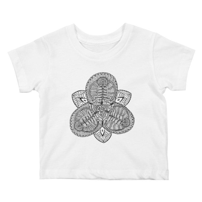 Trikvetr Kids Baby T-Shirt by ShadoBado Artist Shop