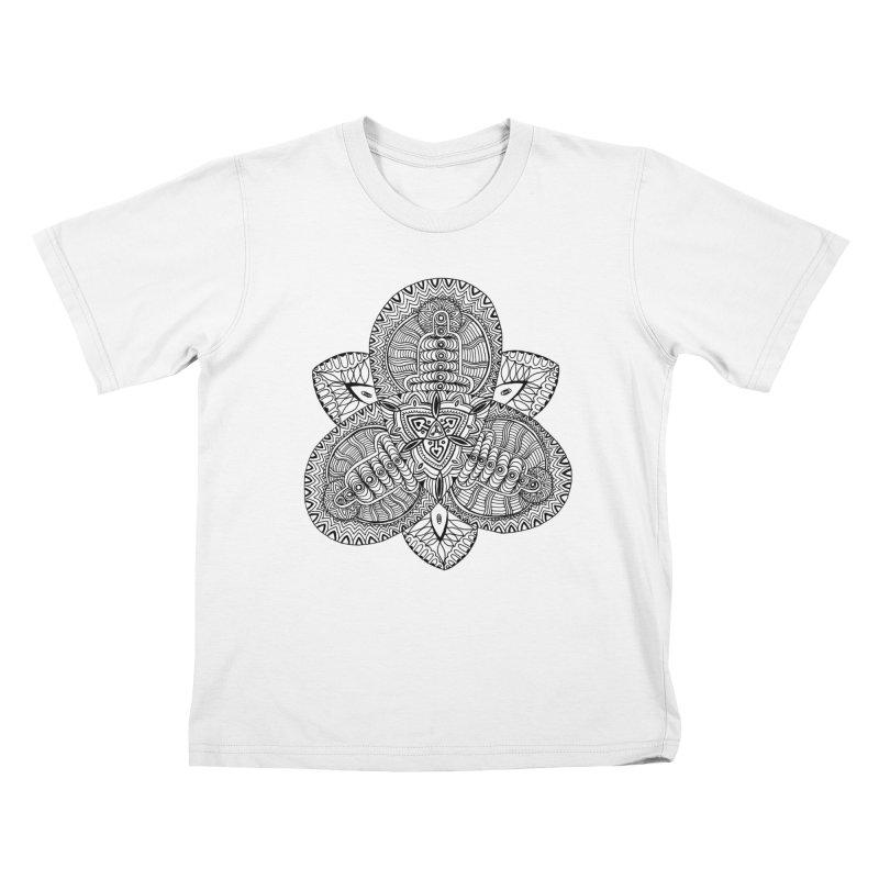 Trikvetr Kids T-Shirt by ShadoBado Artist Shop