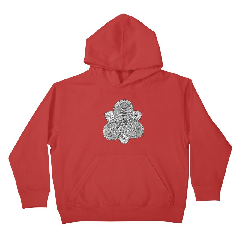 Trikvetr Kids Pullover Hoody by ShadoBado Artist Shop