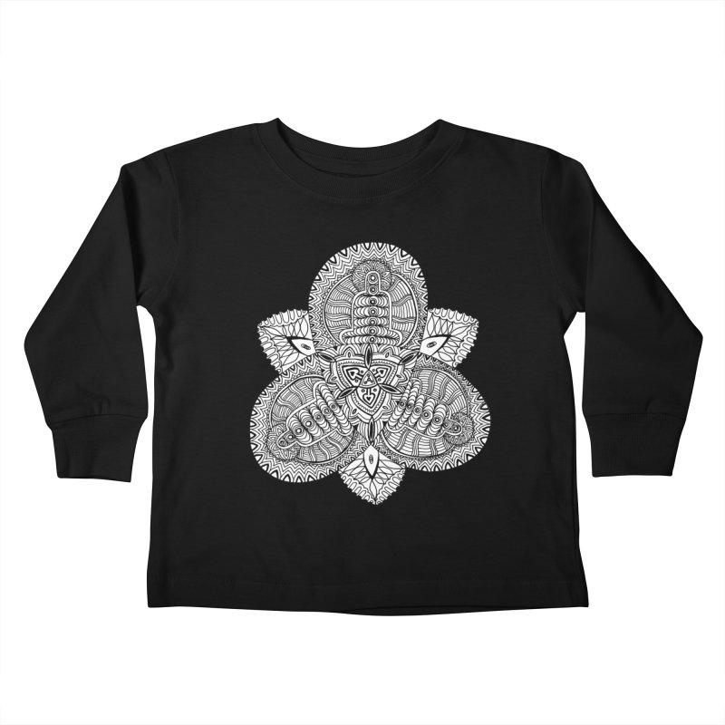 Trikvetr Kids Toddler Longsleeve T-Shirt by ShadoBado Artist Shop