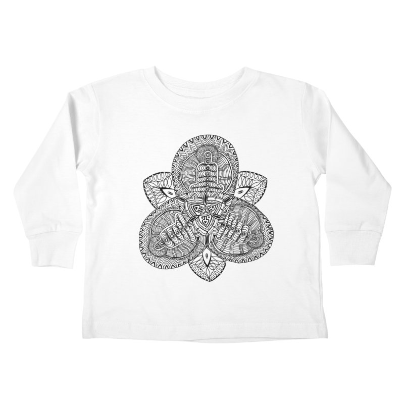 Trikvetr Kids Toddler Longsleeve T-Shirt by ShadoBado Artist Shop