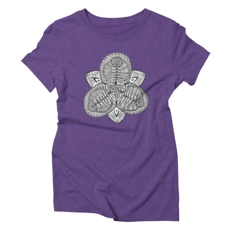 Trikvetr Women's Triblend T-Shirt by ShadoBado Artist Shop