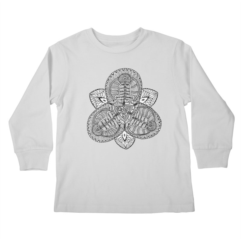 Trikvetr Kids Longsleeve T-Shirt by ShadoBado Artist Shop