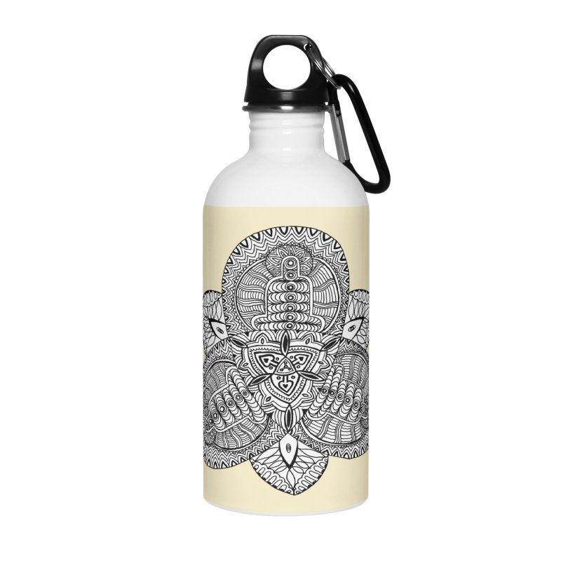 Trikvetr Accessories Water Bottle by ShadoBado Artist Shop