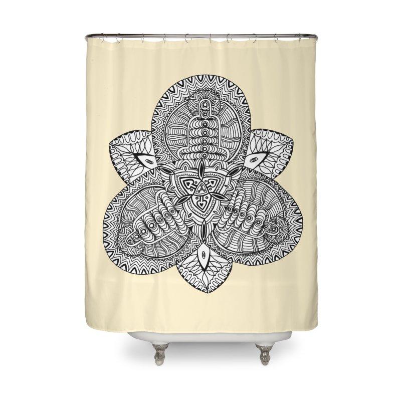 Trikvetr Home Shower Curtain by ShadoBado Artist Shop