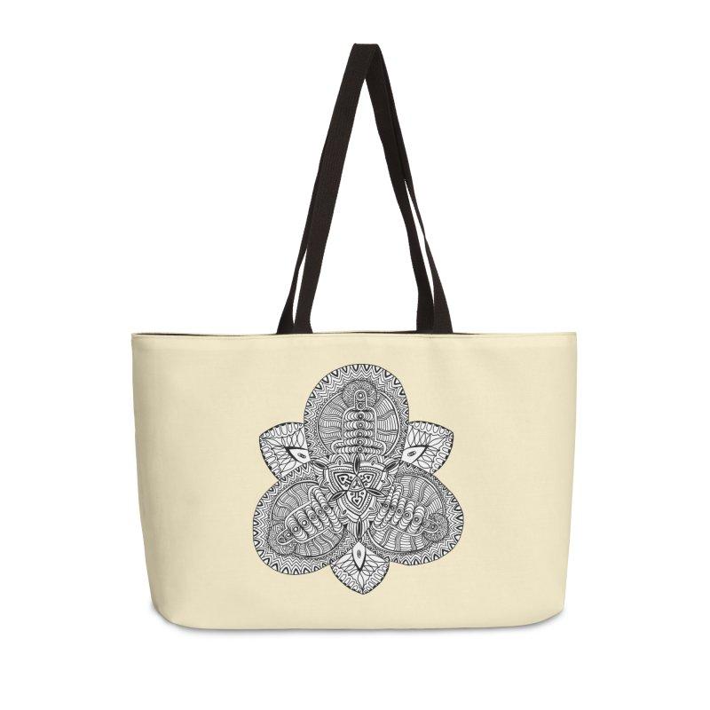 Trikvetr Accessories Weekender Bag Bag by ShadoBado Artist Shop