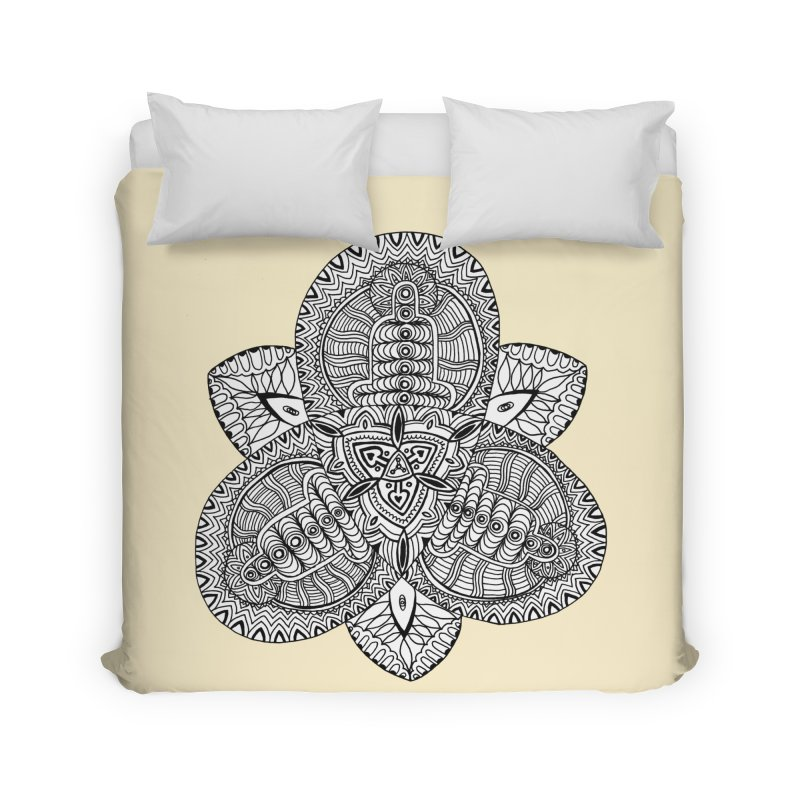 Trikvetr Home Duvet by ShadoBado Artist Shop