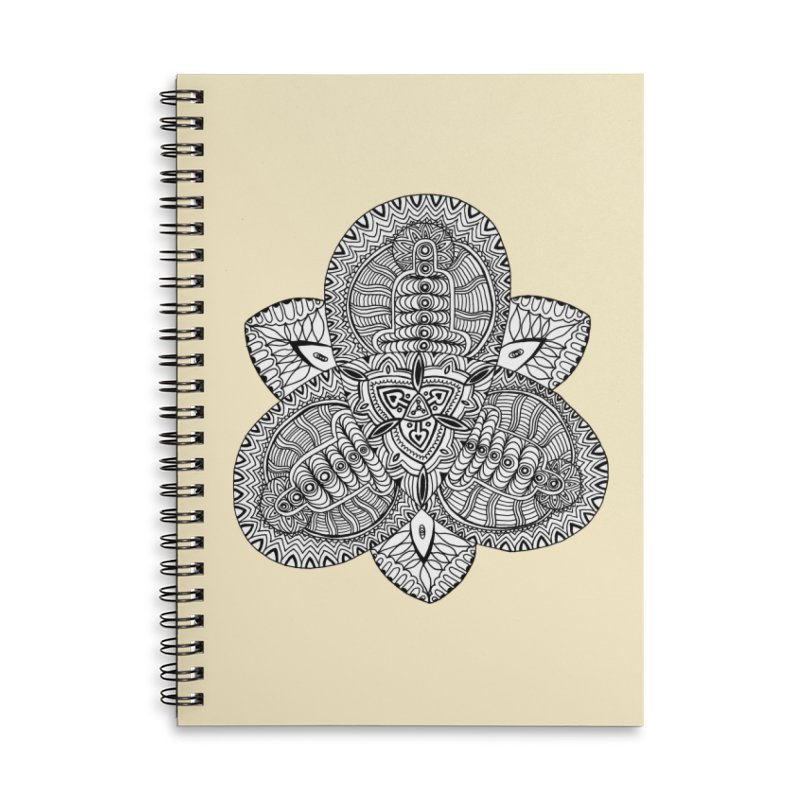 Trikvetr Accessories Lined Spiral Notebook by ShadoBado Artist Shop