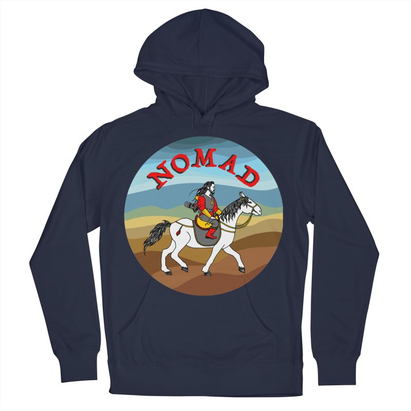 Modern nomad Men's French Terry Pullover Hoody by ShadoBado Artist Shop