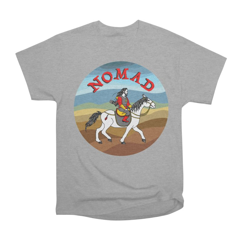 Modern nomad Men's Heavyweight T-Shirt by ShadoBado Artist Shop