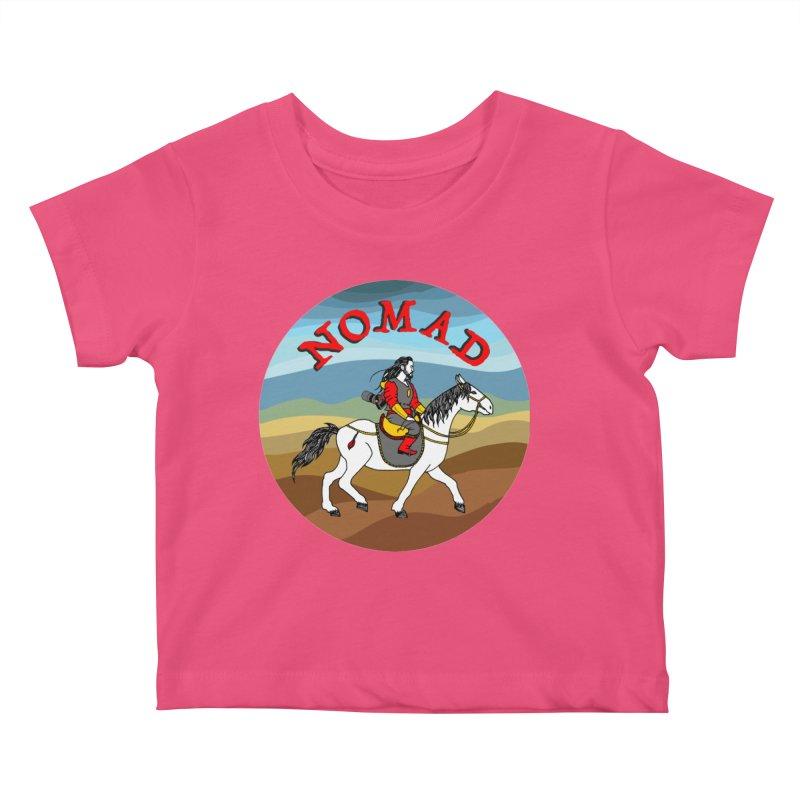 Modern nomad Kids Baby T-Shirt by ShadoBado Artist Shop