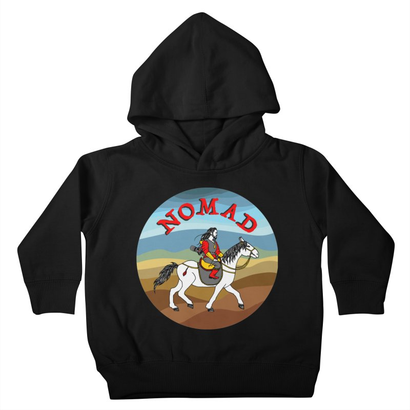 Modern nomad Kids Toddler Pullover Hoody by ShadoBado Artist Shop